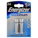Алкалиновые батарейки ENERGIZER MAXIMUM AA (2 шт.)
