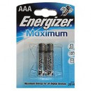 Алкалиновые батарейки ENERGIZER MAXIMUM AAA (2 шт.)