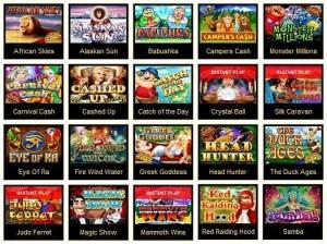 Игровые автоматы интернета